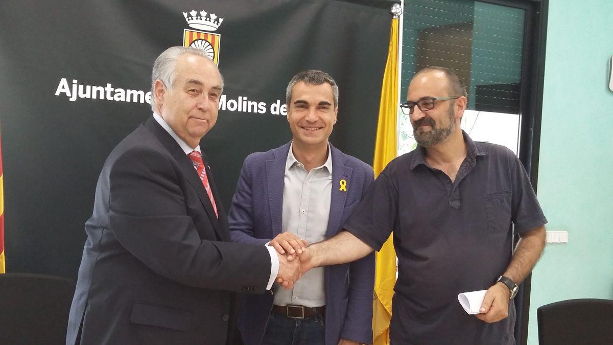 L'ajuntament de Molins de Rei i Cambra Barcelona firmen un acord de col·laboració