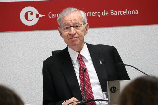 Miquel Valls, president de la Cambra de Barcelona