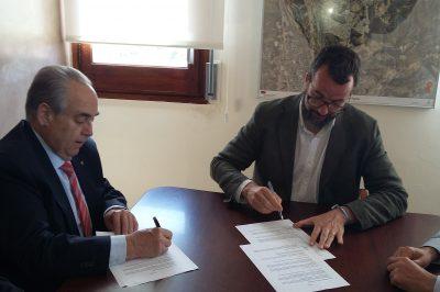Acord collaboracio El Papiol Cambra