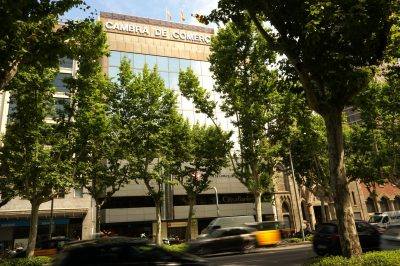 Façana edifici Diagonal Cambra de Barcelona